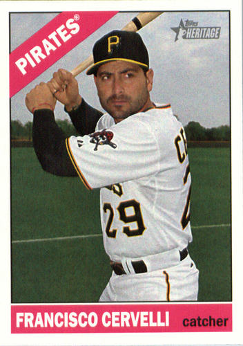 Photo of 2015 Topps Heritage #693 Francisco Cervelli