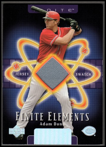 Photo of 2003 Upper Deck Finite Elements Game Jersey #AD Adam Dunn