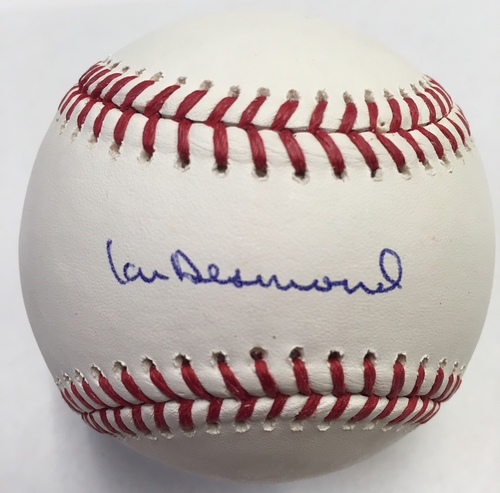 Photo of Ian Desmond Autographed Baseball