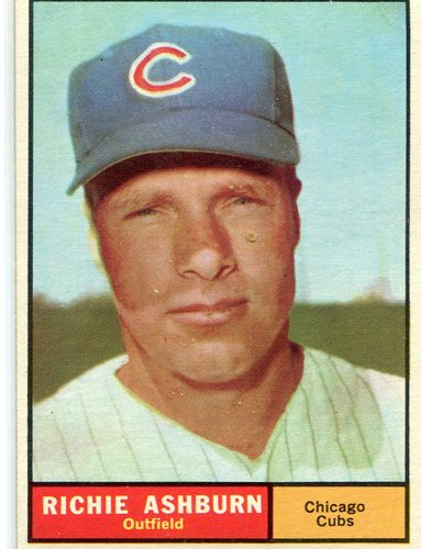 Photo of 1961 Topps #88 Richie Ashburn -- Cubs Hall of Famer