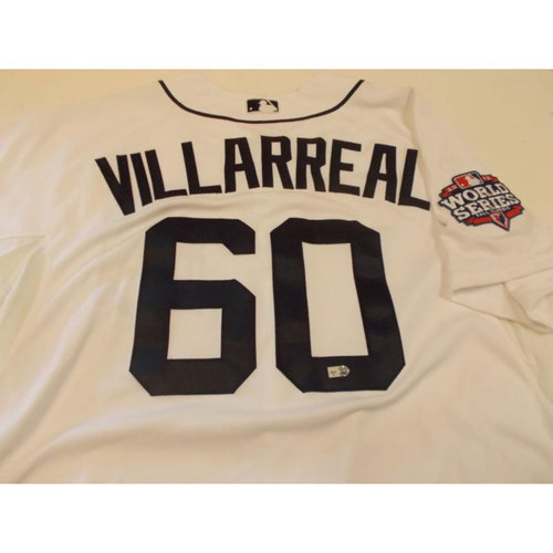 Photo of Brayan Villarreal Home Jersey: 2012 World Series