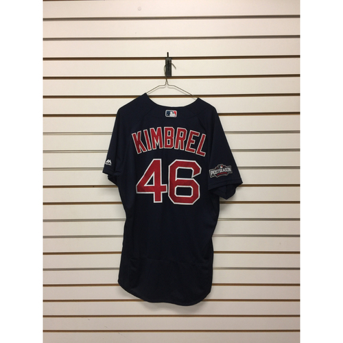 Craig Kimbrel Game-Used ALDS Game 1 Road Alternate Jersey