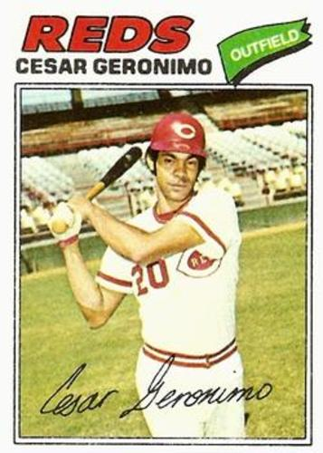 Photo of 1977 Topps #535 Cesar Geronimo