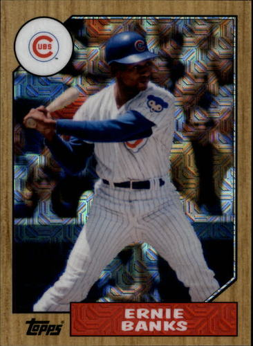 Photo of 2017 Topps '87 Topps Silver Pack Chrome #87EB Ernie Banks S2