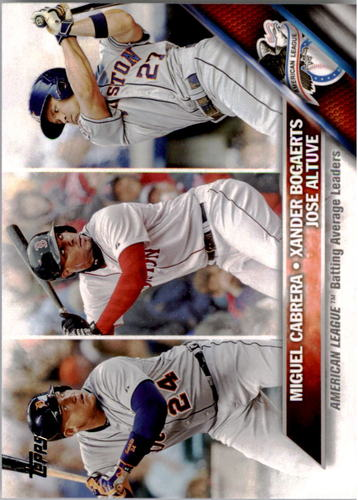 Photo of 2016 Topps #29 Jose Altuve/Miguel Cabrera/Xander Bogaerts LL