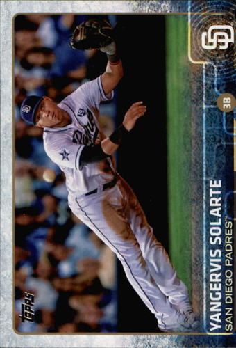 Photo of 2015 Topps #685 Yangervis Solarte