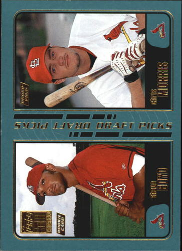 Photo of 2001 Topps #740 S.Boyd RC/C.Morris RC
