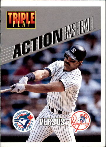 Photo of 1993 Triple Play Action #19 Don Mattingly