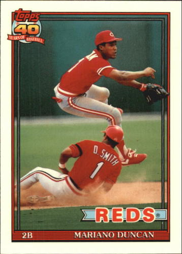 Photo of 1991 Topps Tiffany #13 Mariano Duncan