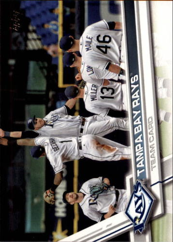 Photo of 2017 Topps #266 Tampa Bay Rays