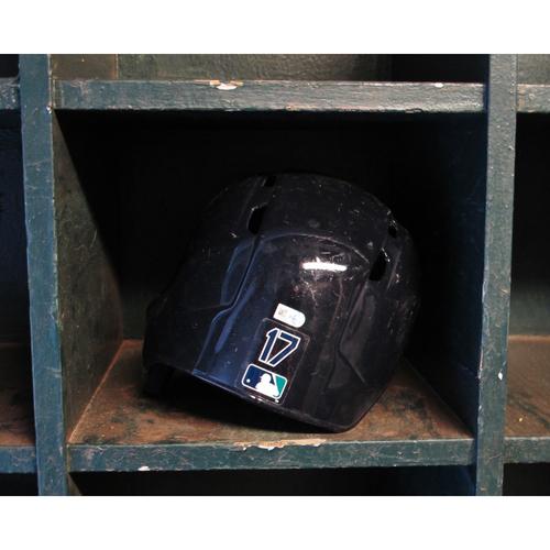 Photo of Mitch Haniger #17 Team-Issued Batting Helmet 2017