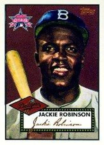 Photo of 1997 FanFest Jackie Robinson #2 Jackie Robinson/1952 Topps