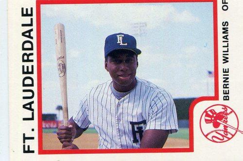 Photo of 1987 Ft. Lauderdale Yankees ProCards #21 Bernie Williams