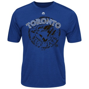 Toronto Blue Jays Razerredge Synthetic T-Shirt by Majestic