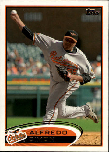 Photo of 2012 Topps #22 Alfredo Simon