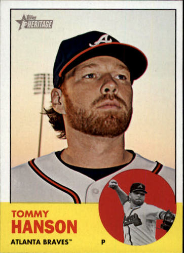 Photo of 2012 Topps Heritage #350 Tommy Hanson