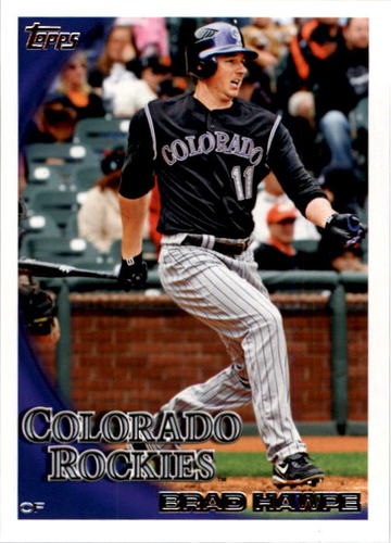 Photo of 2010 Topps #332 Brad Hawpe