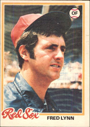 Photo of 1978 O-Pee-Chee #62 Fred Lynn