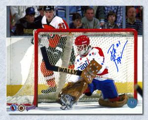 Pat Riggin Washington Capitals Autographed Goalie 8x10 Photo