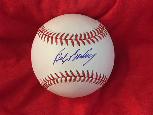 Photo of Bob Bailey Autographed Baseball