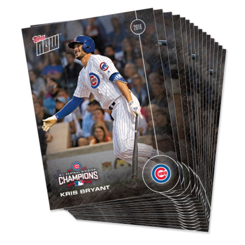 Photo of When the Cubs Win, You Win - Chicago Cubs 2016 Postseason 15-Card Team Set - Topps NOW - 1 Pack