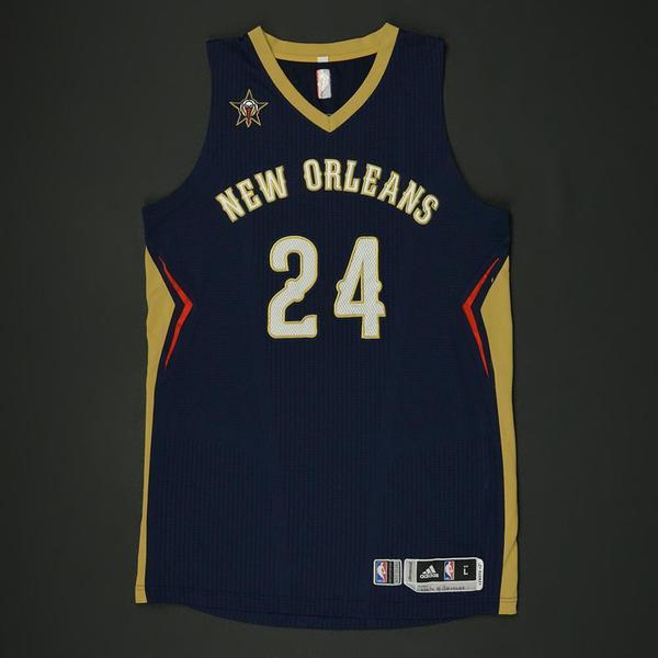 Buddy Hield - New Orleans Pelicans - Game-Worn Jersey - 2016-17 NBA Season a5f7202a7