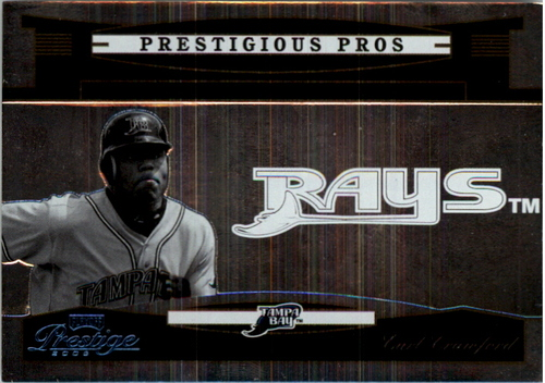 Photo of 2005 Playoff Prestige Prestigious Pros Silver #84 Carl Crawford