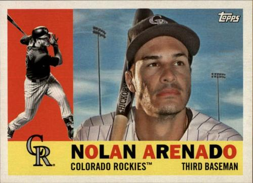 Photo of 2017 Topps Archives Gray Back #78 Nolan Arenado SP