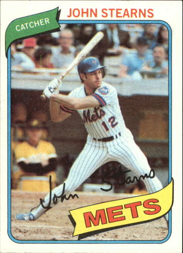 Photo of 1980 Topps #76 John Stearns