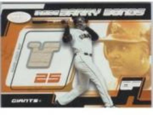 Photo of 2002 Hot Prospects Inside Barry Bonds Memorabilia #4 B.Bonds Bat/700