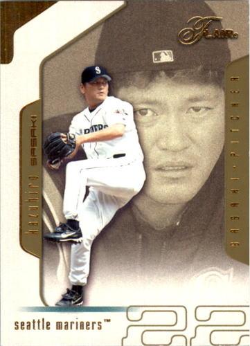 Photo of 2002 Flair Collection #85 Kazuhiro Sasaki