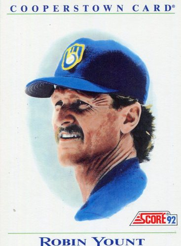 Photo of 1992 Score Factory Inserts #B11 Robin Yount COOP