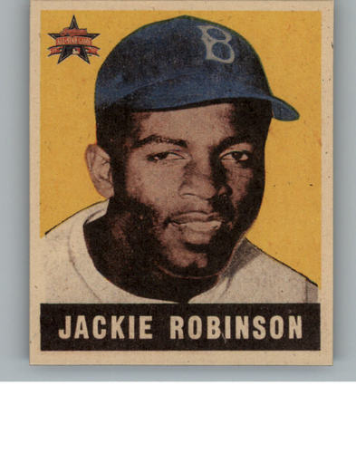Photo of 1997 FanFest Jackie Robinson #4 Jackie Robinson/1949 Leaf