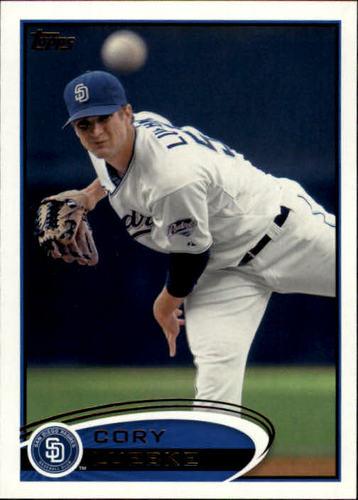 Photo of 2012 Topps #23 Cory Luebke