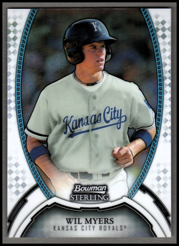 Photo of 2011 Bowman Sterling Prospects Refractors #5 Wil Myers