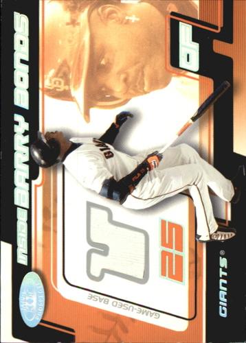 Photo of 2002 Hot Prospects Inside Barry Bonds Memorabilia #5 B.Bonds Base/600