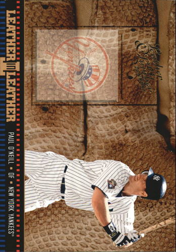 Photo of 2004 Leather and Lumber Leather in Leather #17 Paul O'Neill BG