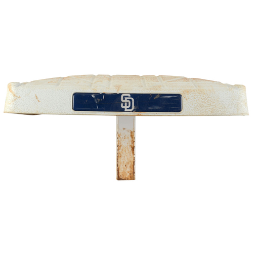 Photo of San Diego Padres Game-Used Base vs. Seattle Mariners from June 30, 2015 - July 1, 2015