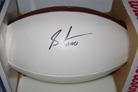 BILLS - SHAQ LAWSON SIGNED PANEL BALL
