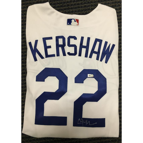 Photo of LA Dodgers Foundation Auction: Clayton Kershaw Authentic Autographed Jersey
