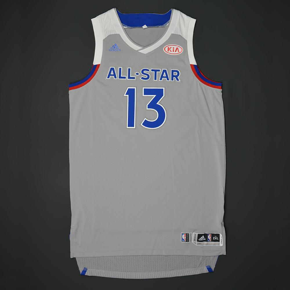 Paul George - 2017 NBA All-Star Game - Eastern Conference - Autographed Jersey
