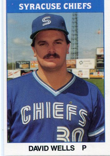 Photo of 1987 Syracuse Chiefs TCMA #9 David Wells