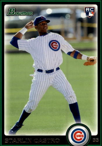 Photo of 2010 Bowman Draft #BDP4 Starlin Castro Rookie Card