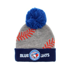 Toronto Blue Jays Toddler/Child Pom Pom Toque by Gertex