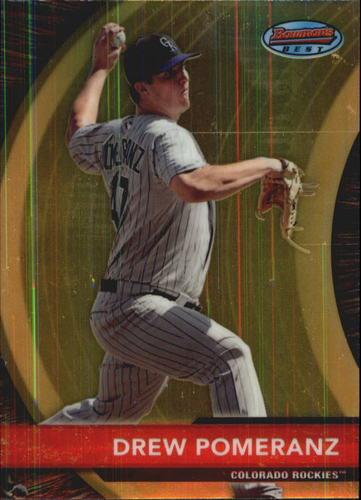 Photo of 2012 Bowman Bowman's Best #BB5 Drew Pomeranz -- Red Sox post-season