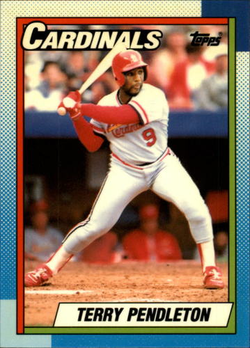 Photo of 1990 Topps Tiffany #725 Terry Pendleton