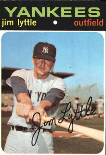 Photo of 1971 Topps #234 Jim Lyttle