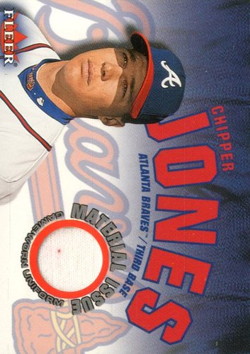 Photo of 2001 Fleer Genuine Material Issue #CJ Chipper Jones