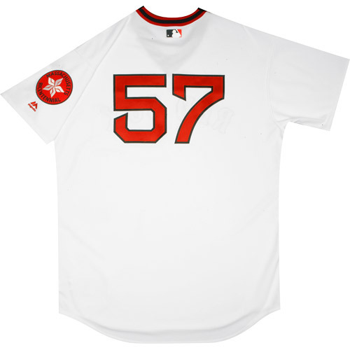 Photo of Boston Red Sox 1975 Throwback Complete Game-Used Uniform Set - Victor Rodriguez