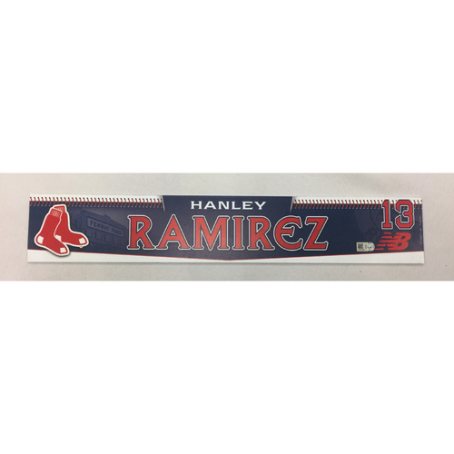 Photo of Hanley Ramirez Team-Issued 2015 Locker Tag